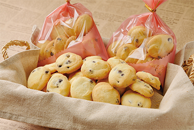 手づくりのクッキー
